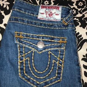 True religion Joey super T straight leg jeans